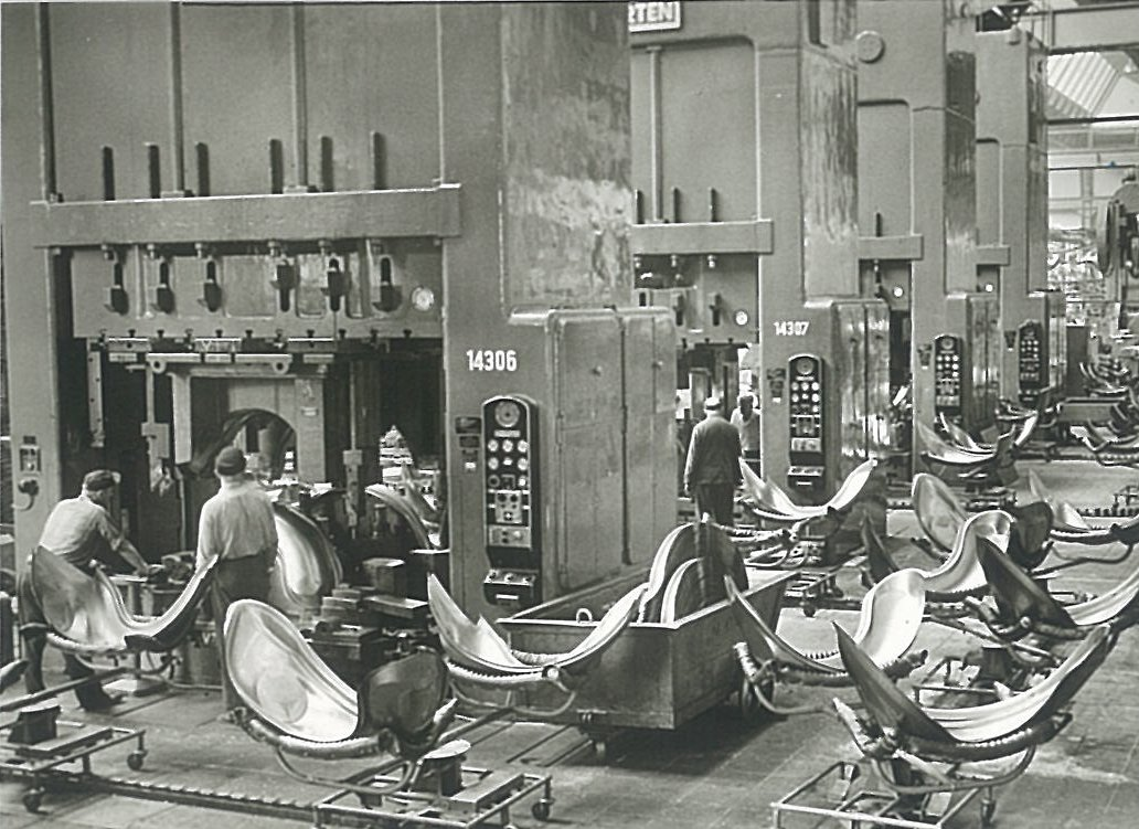 fotos históricas de VW