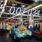 Volkswagen Sedan 15 Millones, solo 1,500 fueron producidos