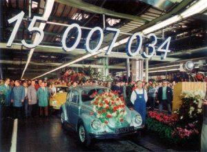 Volkswagen Sedan 15 Millones