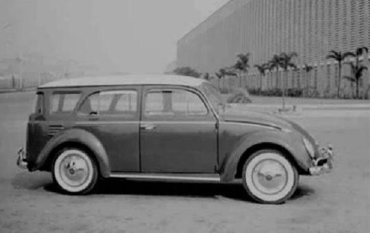 Volkswagen Fusca Station Wagon