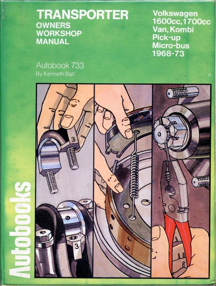 libros de mecánica VW