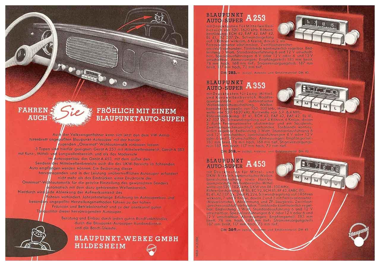 radios para vocho clásico